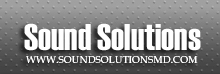 Sound Solutions is an Authorized dealer in the Greater Baltimore Region